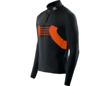 X BIONIC RACOON 2ND LAYER long-sleeved jersey black/orange
