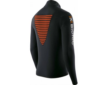 X BIONIC RACOON 2ND LAYER Trikot langarm black/orange