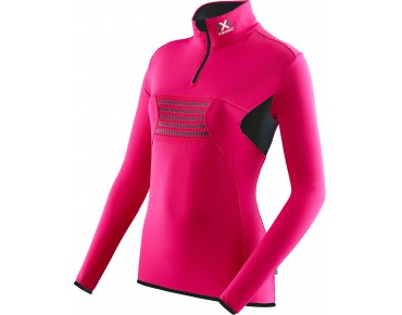 X BIONIC RACOON 2ND LAYER women's long-sleeved jersey pink/black