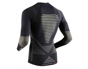 X BIONIC ACCUMULATOR EVO long-sleeved undershirt charcoal/pearl grey