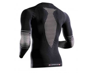 X BIONIC ENERGIZER MK2 long-sleeved undershirt black/white
