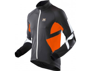 WINTER SPHEREWIND LIGHT soft shell jacket black/orange