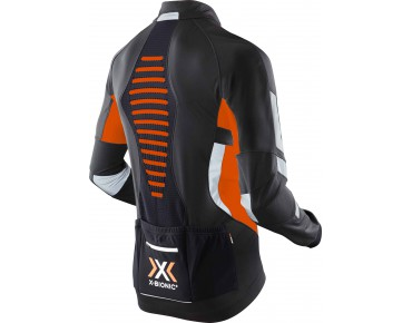 X BIONIC WINTER SPHEREWIND LIGHT soft shell jacket black/orange