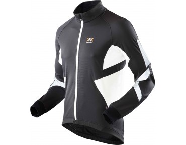X BIONIC WINTER SPHEREWIND LIGHT soft shell jacket black/white