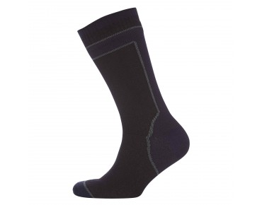 SealSkinz MID WEIGHT MID LENGTH wasserdichte Merino Socken