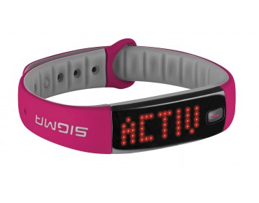 Sigma Activo Activity Tracker Armband berry pink