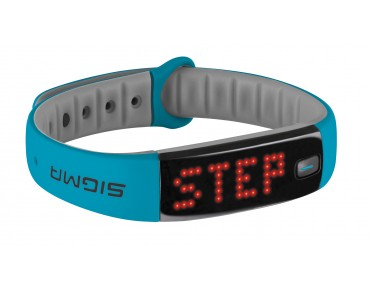 Sigma Activo Activity Tracker Armband sky blue