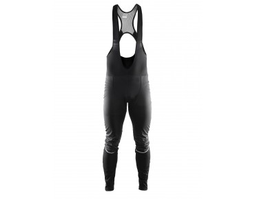CRAFT STORM thermal windbreaker bib tights, long black