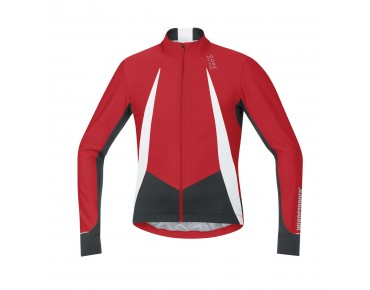 GORE BIKE WEAR OXYGEN WINDSTOPPER - maglia maniche lunghe red/black