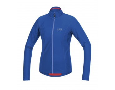 GORE BIKE WEAR ELEMENT thermal long-sleeved jersey for women brilliant/blizzard blue