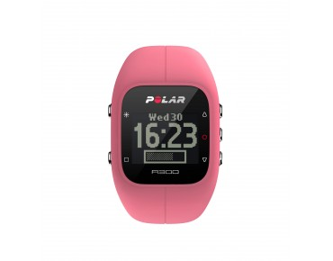 Polar A300 HR sports watch pink