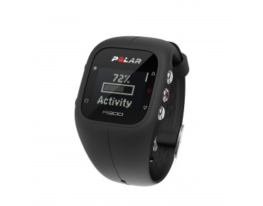 Polar A300 HR sports watch schwarz