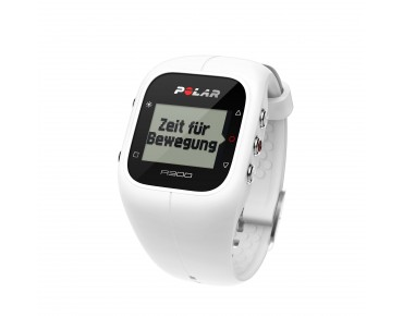 Polar A300 HR sports watch white