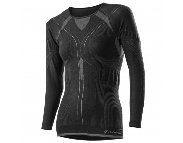 Löffler SEAMLESS TRANSTEX WARM long-sleeved base layer for women schwarz