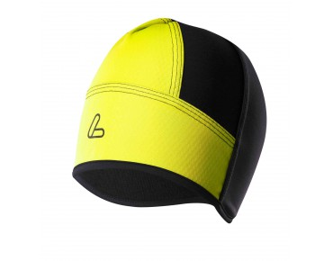 Löffler WINDSTOPPER SOFTSHELL LIGHT helmet hat zitrone