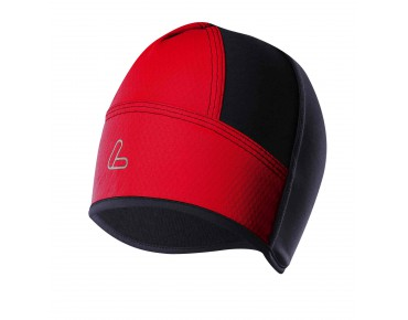 Löffler WINDSTOPPER SOFTSHELL LIGHT helmet hat red