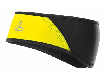 Löffler GORE WINDSTOPPER SOFTSHELL LIGHT headband Zitrone