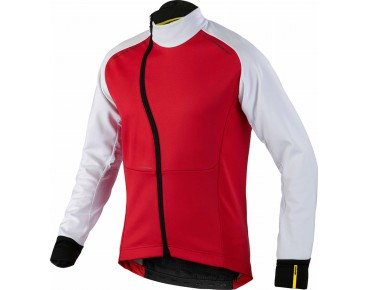 MAVIC COSMIC PRO Windschutz-Jacke bright red/white