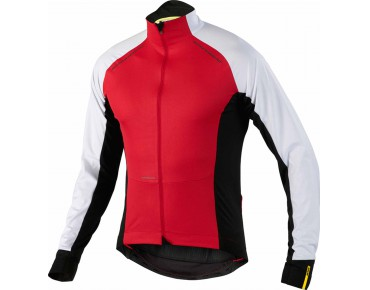 MAVIC COSMIC PRO WIND LS windproof thermal long-sleeved jersey bright red
