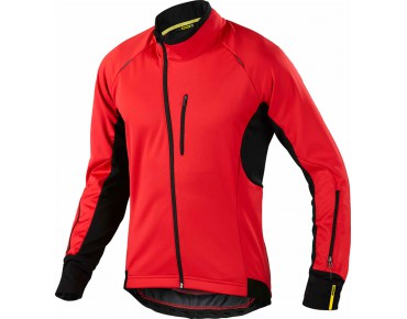 MAVIC COSMIC ELITE Windschutz-Thermo-Jacke bright red