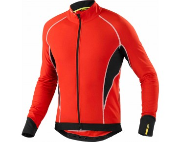 MAVIC COSMIC ELITE thermal long-sleeved jersey bright red