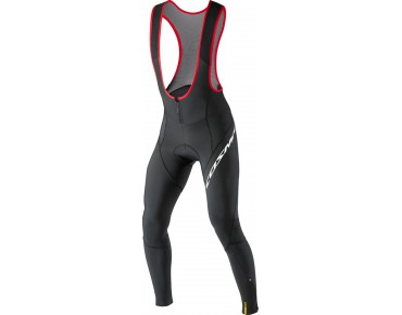 MAVIC COSMIC ELITE thermal bib tights black/bright red