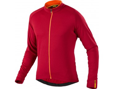 MAVIC AKSIUM thermal long-sleeved jersey victory red