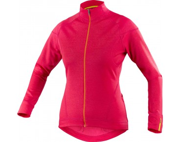 MAVIC KSYRIUM ELITE women's thermal jersey cerise