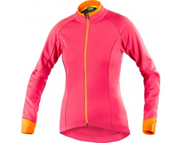MAVIC AKSIUM thermal windbreaker for women cerise