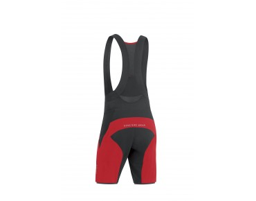 GORE BIKE WEAR ALP-X PRO 2in1 short red/black