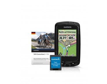 Garmin Edge 810 GPS - ciclocomputer Bundle Topo Germania V7 Pro