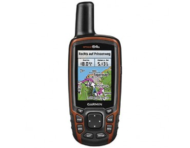 Garmin GPSMAP64s navigation device Bundle incl. Topo Germany V7 Pro black