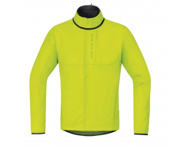 GORE BIKE WEAR POWER TRAIL WS SO thermal jacket neon yellow