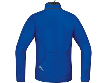 GORE BIKE WEAR POWER TRAIL WS SO thermal jacket brillant blue/black