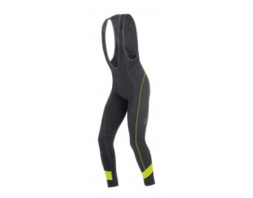 GORE BIKE WEAR POWER 2.0 thermal bib tights, long black/neon