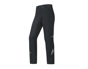 GORE BIKE WEAR E WS AS zip-off pants black