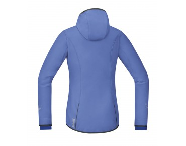 GORE BIKE WEAR ELEMENT WS SO Damen Hoodie blizzard blue/brilliant blue