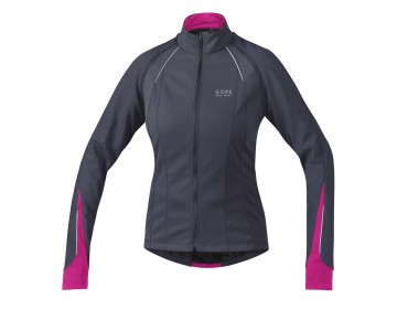 GORE BIKE WEAR PHANTOM 2.0 WS SO zipp off damesjack graphite grey/magenta