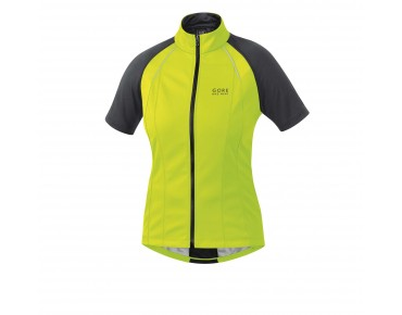 GORE BIKE WEAR PHANTOM 2.0 WS SO zip-off jacket for women neon yellow/black