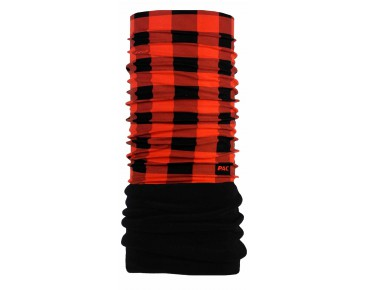 P.A.C. ORIGINAL FLEECE functional scarf checks red