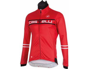 Castelli SEGNO WINDSTOPPER softshell jacket red
