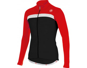 Castelli CRITERIUM FZ long-sleeved jersey black/red/white