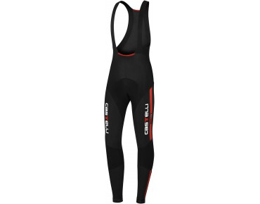 Castelli SORPASSO thermokoersbroek black/red