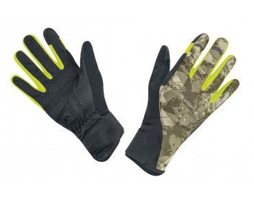 GORE BIKE WEAR ELEMENT URBAN WINDSTOPPER gloves camouflage