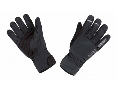 GORE BIKE WEAR UNIVERSAL WINDSTOPPER thermal gloves black