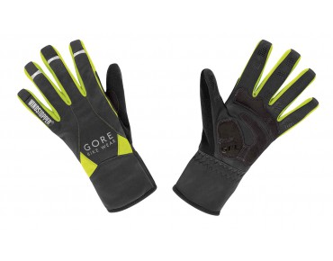 GORE BIKE WEAR UNIVERSAL WINDSTOPPER MID gloves neon yellow