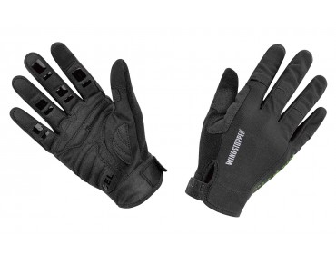 GORE BIKE WEAR POWER TRAIL WINDSTOPPER gloves black
