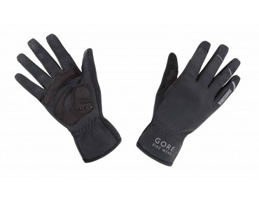 GORE BIKE WEAR BIKE WEAR UNIVERSAL WINDSTOPPER - guanti black
