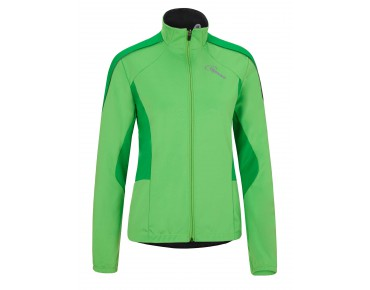 GONSO LUSSARI women's softshell jacket poison green