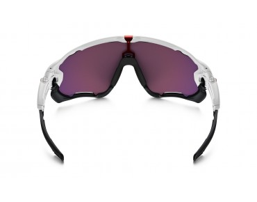 OAKLEY JAWBREAKER sports glasses polished white w/PRIZM ROAD
